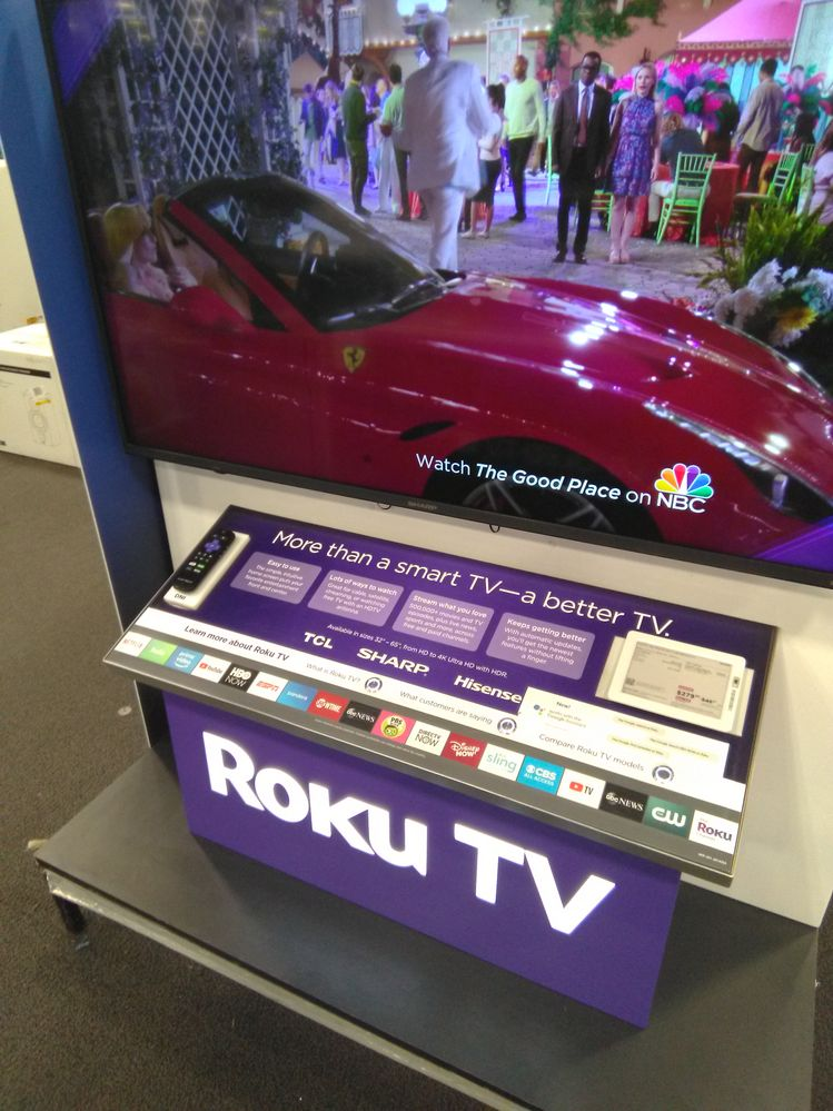 Roku Television Only Display Kiosk