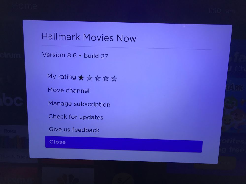 There is no remove channel