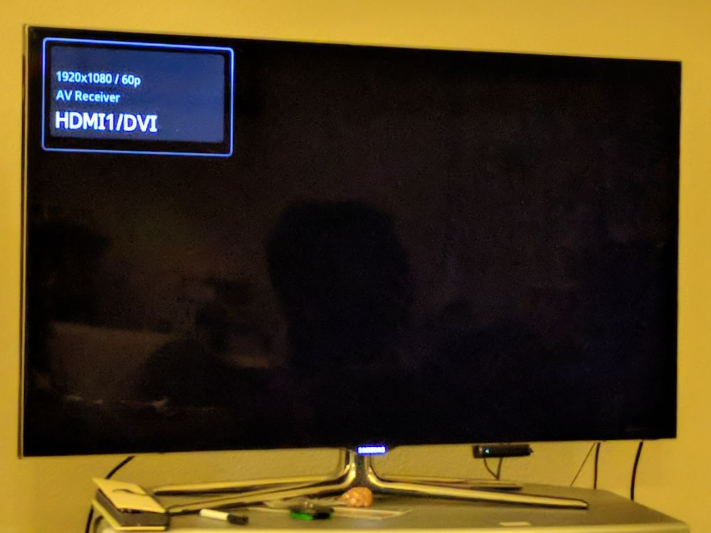 Samsung blank screen at start of stream changes (mostly ads)