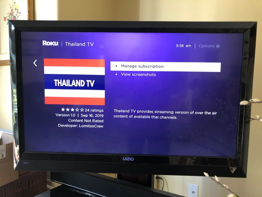 """NOTE: channel is not installed and notice there isn't an """"add channel"""" option"""